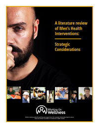 a literature review of men's health cover
