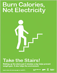 Burn Calories, Not Electricty